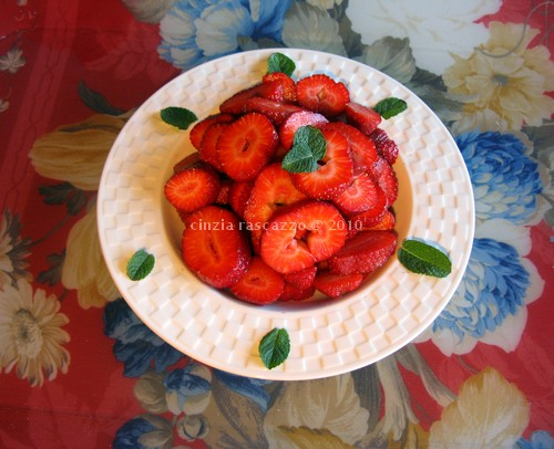 Italian recipes with strawberries