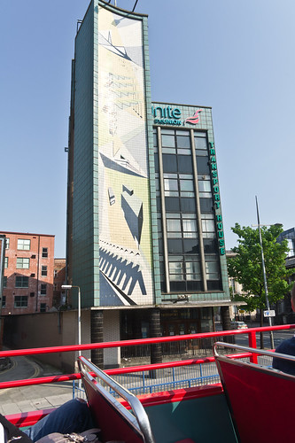 Transport House in Belfast was built in 1959, in the International Style