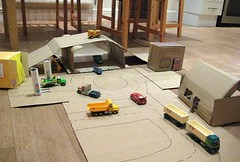 make a junk model town