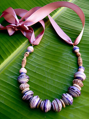 paper beads (Mzuri beads) Tags: bananaleaf barkcloth cowhorn paperbeads ethicalfashion ribbonnecklace recycledjewelry fairtradejewelry naturalbeads fairtradebeads ugandanbeads ecojewellery ethicalbeads mzuribeads ugandanjewelry kirstiemaclean