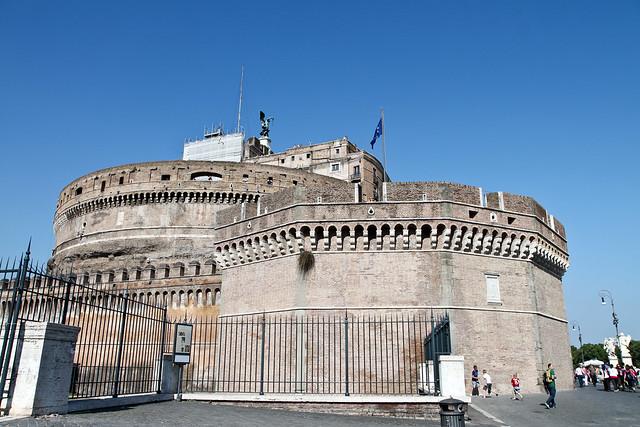 Rome. Castel St. Angelo