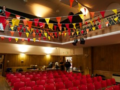 Conway Hall, set up for Interesting 2011