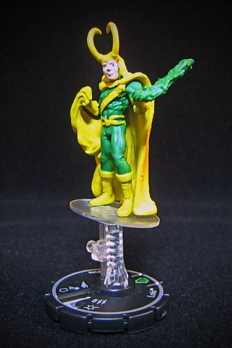 Marvel HeroClix Mutant Mayhem #96 Loki - Unique