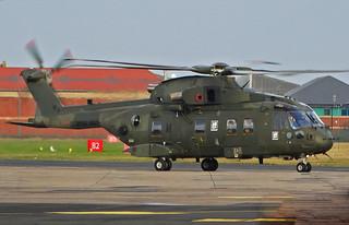 ZJ128 Agusta-Westland Merlin HC.3 of the Royal Navy