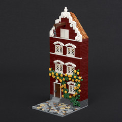 House in King's Port, sans figs (Jonas Wide ('Gideon')) Tags: lego architecture brethrenofthebrickseas bobs kingsport challengev