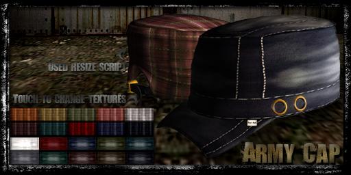 Army Cap-C067/-D011