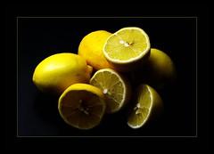 Vitamins (Regina J.) Tags: stilllife food fruits yellow fruit lemon healthy pentax lemons sour vitaminc visualart vitamins 70mm cwd explored bej jtbs impressedbeauty superaplus aplusphoto sauermachtlustig diamondclassphotographer flickrdiamond sigma70mmf28exdgmacro theperfectphotographer homersiliad pentaxk20d justthebestsurvived cwd1442 cwdweek144 toberemovedfromcookingandfood