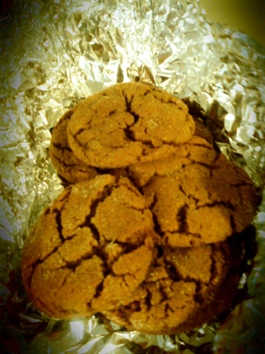 Soft molasses cookies!