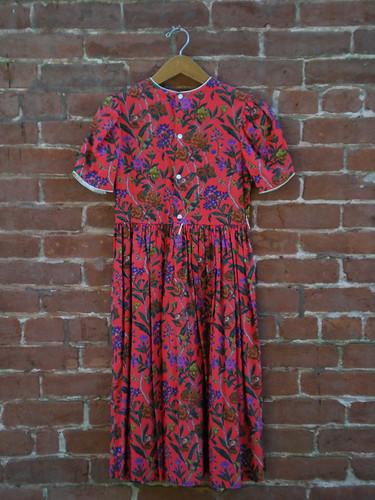 Etsy: Vintage 60's Cotton Floral Dress