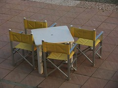 statico (lucia bianchi) Tags: white yellow table colours chairs giallo colori sedie tavolo bianco howeveritsstillmylife kernoart
