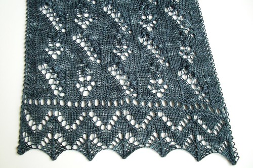 Lily of the Valley scarf-11.5 inches by 47 inches-2