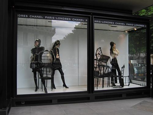 Vitrines Chanel - Juillet 2008