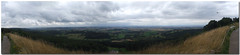 North Yorkshire view from above the White Horse of Kilburn (SierPinskiA) Tags: panorama stitch panoramic northyorkshire suttonbank multipleimages stitchedimages adobephotoshopelements whitehorseofkilburn 9images fujifinepixs9600 microsoftice