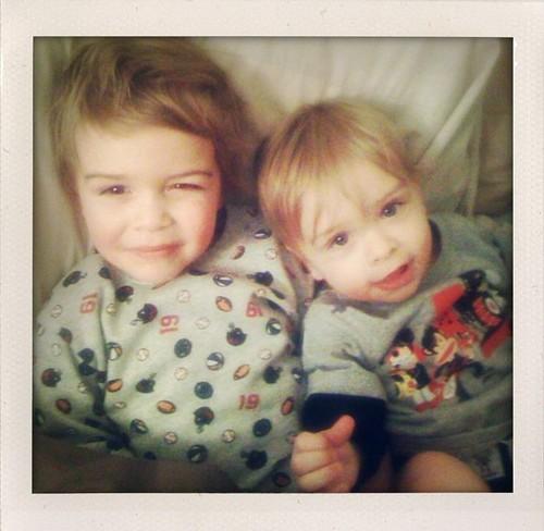 my boys.