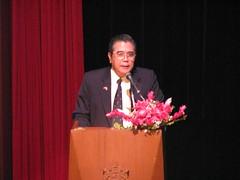 บรรยายพิเศษ สภาอาจารย์ รร.จปร. โดยราชบัณฑิตสำนักวิทยาศาสตร์ ราชบัณฑิตยสถาน 2552