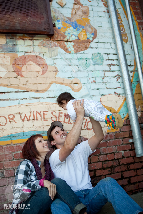 sonoma county family photography in down town petaluma