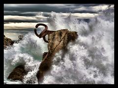 El peine de las olas