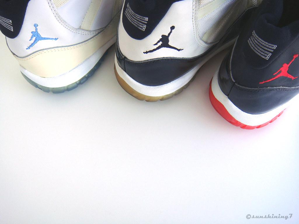 f85851cbc4d Sunshining7 - Nike Air Jordan XI - 1996 - OG TRIO II (sunshining7) Tags