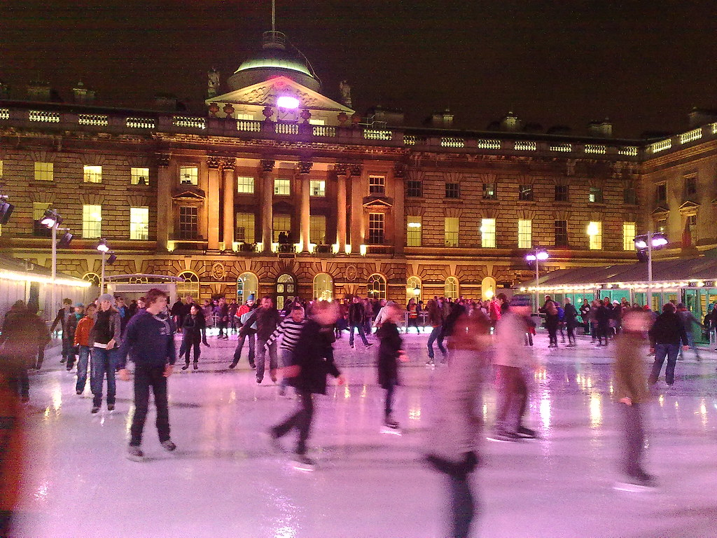 """ice skating"" at ""somerset house"" by fsse8info, on Flickr"