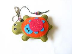 Tartaruga (Menina Moa Acessrios em Feltro) Tags: chaveiro