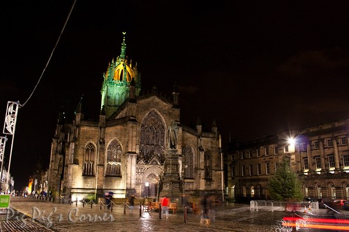 sst giles cathedral edinburgh