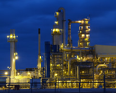 Chemical Plant 1 (tord75) Tags: light plant night texas houston chemical seabrook
