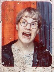 Found photo (Yan Basque) Tags: boy found photobooth damaged tumblr