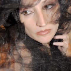 Shadowed in the mist... (~lala~(Lisa)) Tags: shadow portrait woman mist selfportrait me face self dark myself model eyes nikon shadows expression lisa lips sp 365 netting visualpoetry selfie d90 365days i nikond90 ~lala~ 365days2009 project36612009 shadowedinthemist