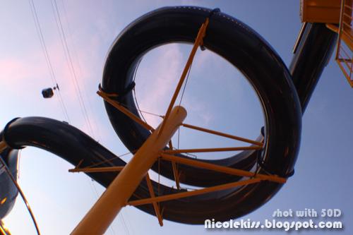 spiral water slide