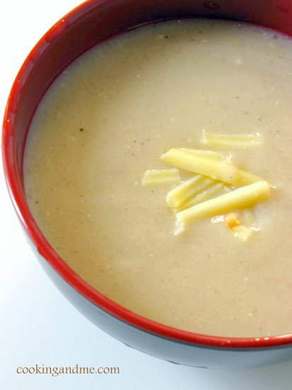 Cheddar cheese soup recipes