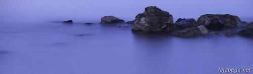 Rocas de noche