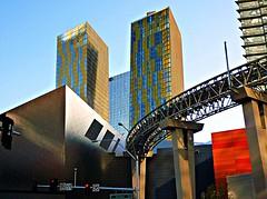 City Center (old_man) Tags: glass concrete lasvegas steel thestrip citycenter picnik