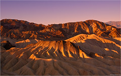 Zabriskie Point Sunrise (pascalbovet.com) Tags: california usa deathvalley zabriskiepoint deathvalleynationalpark