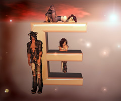 E is for (~sierra sugar~) Tags: standing pose twilight sl secondlife e animation letter neko alphabet emotions poses laying photographyprop photoprop proposer