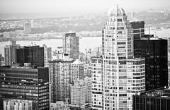 City View (Thomas Hawk) Tags: nyc newyorkcity bw newyork architecture manhattan topoftherock 30rockefellerplaza