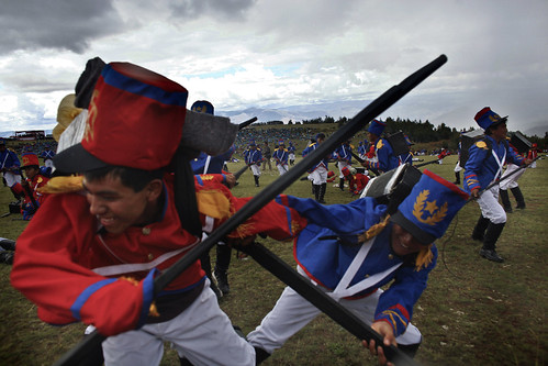 Re-enactment in Ayacucho – The battle that liberated a continent