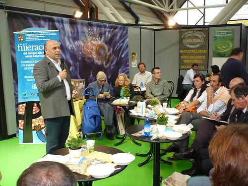 Presentazione 2007 al sana pasta Bio Malavolta