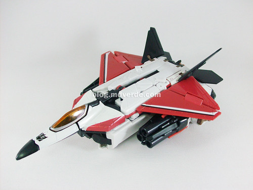Transformers Ramjet RotF Voyager - modo alterno
