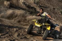 (Talal Al-Mtn) Tags: portrait yellow twin banshee yamaha kuwait drift q8 kwt lm10 inoman yamahabanshee350 talalalmtn  bytalalalmtn photographybytalalalmtn banshee350