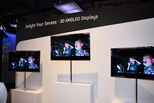 3D AMOLED CES-2010 from Samsung