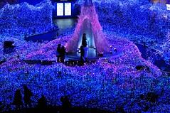 Blue Ocean (hidesax) Tags: japan tokyo nikon illumination shiodome blueocean d90 nikkor85mmf14d carettashiodome nikond90 hidesax