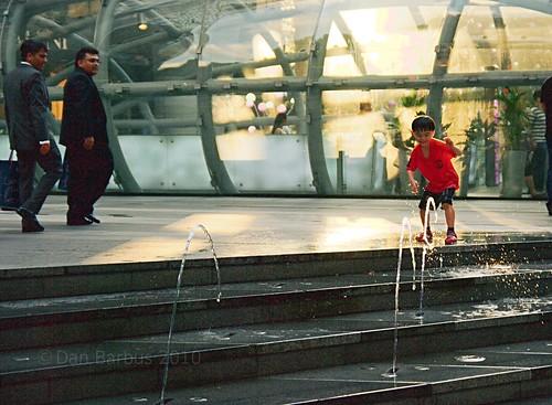 Child in Singapore