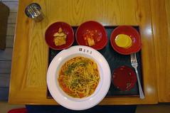Spaguetti a la Koreana