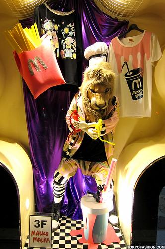 Malko Malka Lion in Harajuku