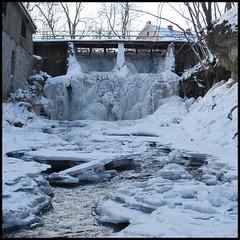 20 (Bargais) Tags: winter river waterfall latvia latvija kuldiga upe ledus ziema kuldīga ūdenskritums alekšupīte