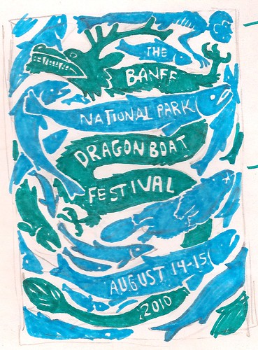 Dragonboat Poster Rough