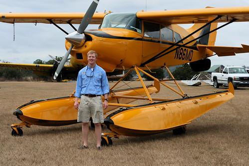 my hubby, proud pilot
