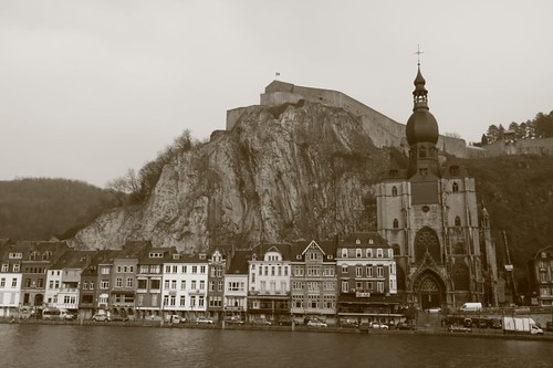 Beautiful Dinant, Belgium.