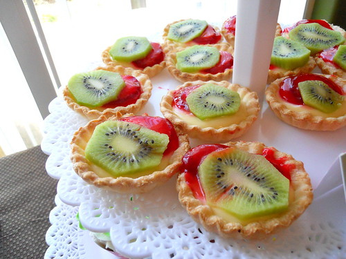 fruit tarts - Baby Shower Artisan Cake Company