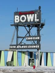 Burnsville Bowl (altfelix11) Tags: minnesota bar lounge bowling bowlingalley 12thavenue highway13 burnsville vintagesign burnsvillebowl